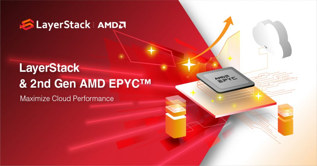 LayerStack And 2nd Gen AMD EPYC 64 Core CPU