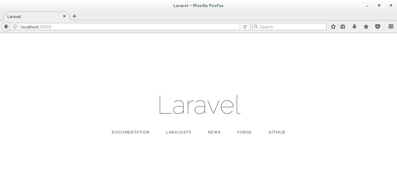 LayerStack - laravel installation on centos7