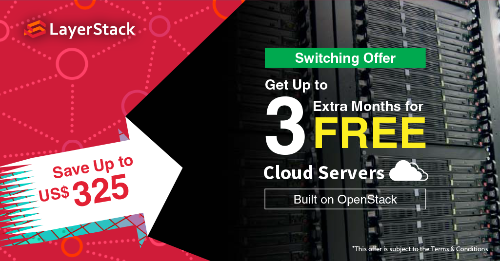 To Get Your FREE Extra 3-month Cloud Servers